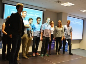 Zespół Red-shift uzyskał trzecie miejsce / Credits: Krzysztof Kanawka Blue Dot Solutions