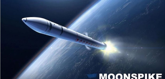 Wizualizacja rakiety, która wyśle impaktor na Księżyc / Credits: Moonspike