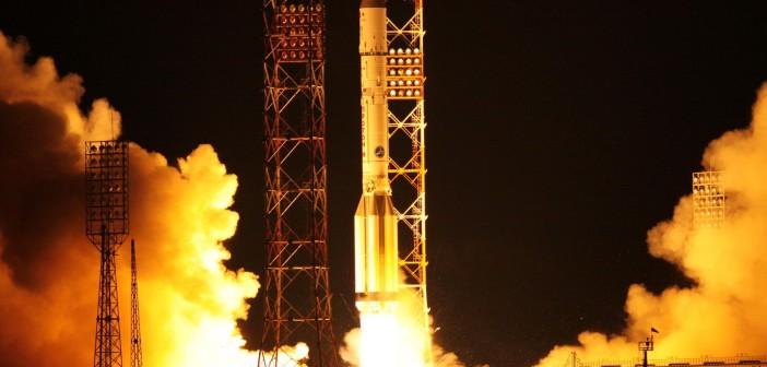 Start rakiety Proton-M z satelitą Turksat-4B