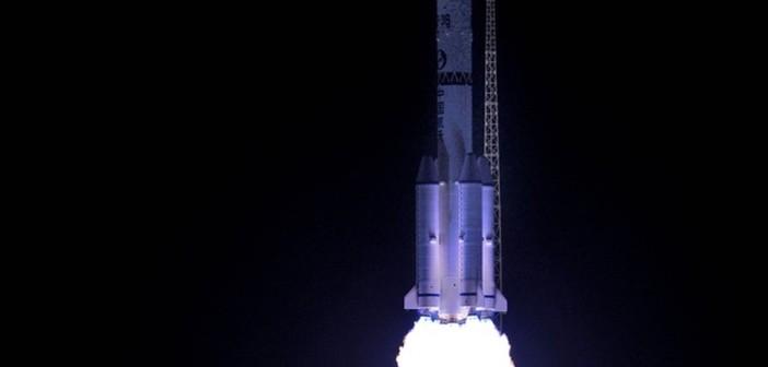 Rakieta nośna CZ-3B/G2 wynosi satelitę APSTAR-9 (Xinhua)