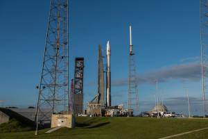 Atlas V z satelitą Morelos-3 / Credit: ULA