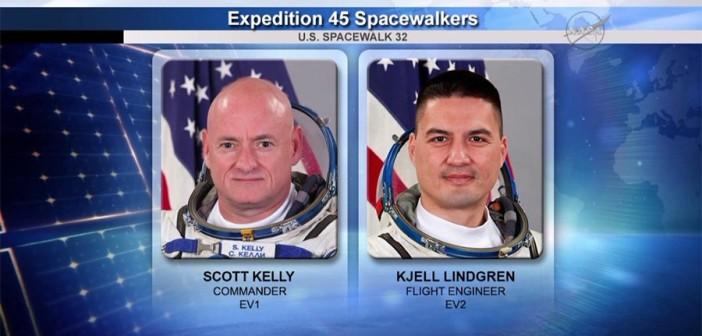 EVA-32 / Credits - NASA TV