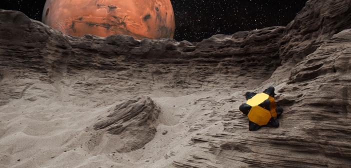 Robojeż. Wizja artystyczna. Credits: NASA/JPL