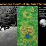 Dw potencjalne kriowulkany na Plutonie i ich położenie względem Sputnik Planum / Credits - NASA/Johns Hopkins University Applied Physics Laboratory/Southwest Research Institute