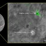 Kratery Organa i Skywalker / Credits - NASA/Johns Hopkins University Applied Physics Laboratory/Southwest Research Institute
