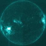 Faza maksymalna rozbłysku klasy M3.9 z 9 listopada 2015 / Credits - NASA, SDO