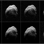 Nowe spojrzenie na 2015 TB145 / Credits - NASA/JPL-Caltech/GSSR/NRAO/AUI/NSF