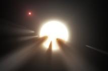 Możliwe wyjaśnienie tranzytów KIC 8462852 - komety krążące wokół gwiazdy / Credits - NASA/JPL-Caltech