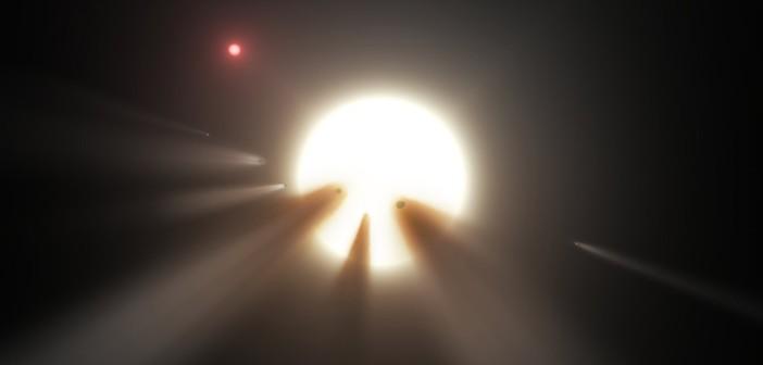 Spadek jasności KIC 8462852
