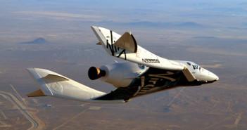 SpaceShipTwo prawie rozbił się w 2011 roku