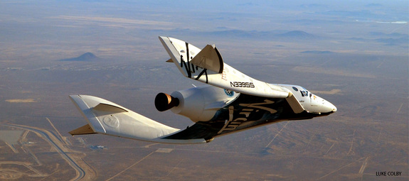 Statek Space Ship Two / Credits: Virgin Galactic