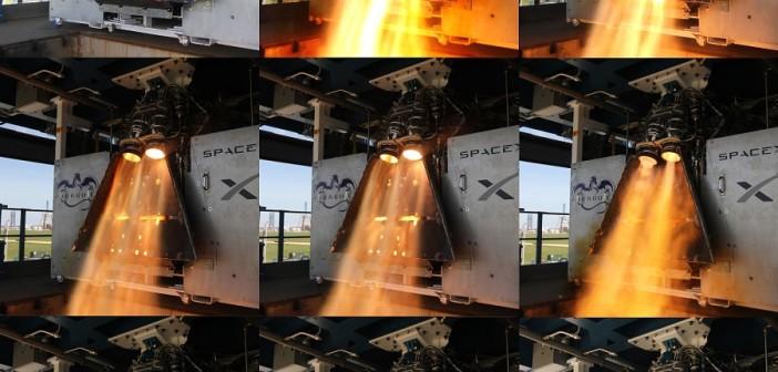 Silniki SuperDraco / Źródło: SpaceX