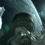 Widok z drugiego stopnia Atlasa V podczas startu z Cygnusem-4 / Credits - NASA TV