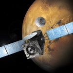 Odłączenie EDM od sondy ExoMars 2016 - wizualizacja / Credit: ESA