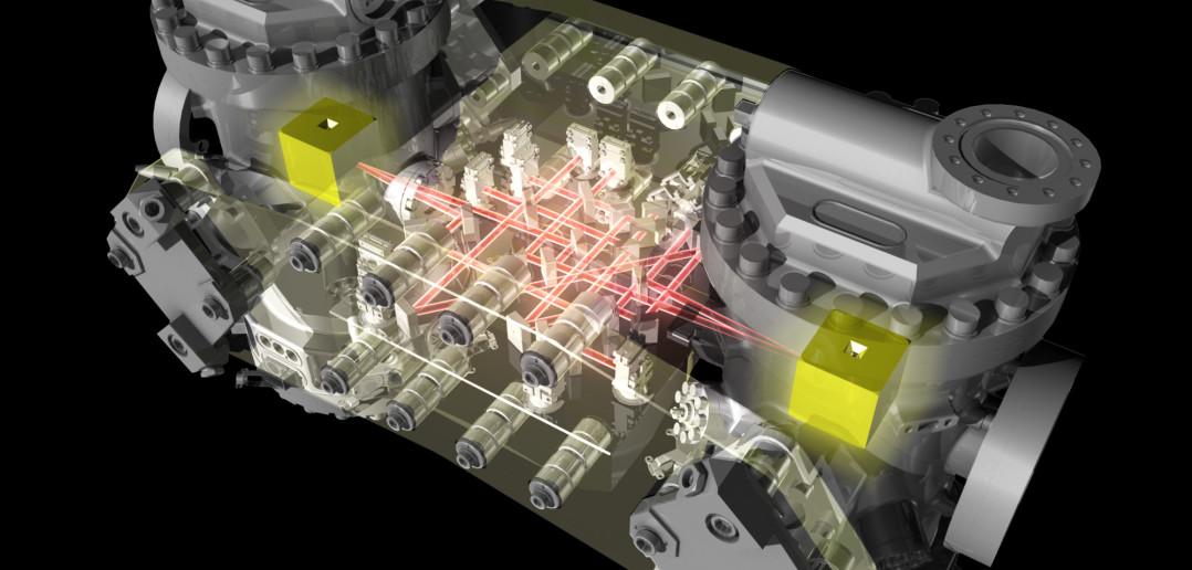 Schemat budowy LTP sondy LISA Pathfinder / Credit: ESA