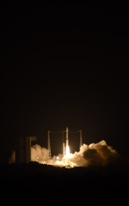 Start rakiety Vega VV06 z sondą LISA Pathfinder, 3 grudnia 2015 / Credit: ESA, Stephane Corvaja