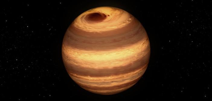 Wizja artystyczna W1906+40 / Credits - NASA/JPL-Caltech
