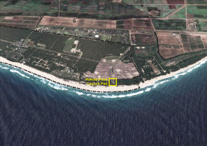 Kokole Point - miejsce startu rakiety Super Strypi / Credit: ORSS
