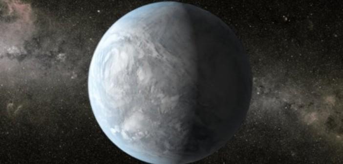 Skalista super-Ziemia, w całości skuta lodem - możliwy wygląd Wolf 1061d? / Credits - NASA, Ames, JPL-Caltech