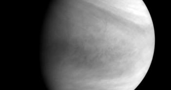 Wenus sfotografowana przez VCO Akatsuki w paśmie ultrafioletowym, 7 grudnia 2015 / Credit: JAXA