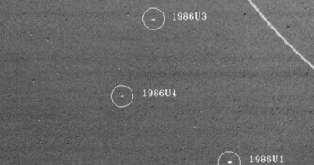 Małe księżyce Urana, wykryte przez sondę Voyager 2 / Credits - NASA/JPL-Caltech
