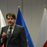 Dr Grzegorz Brona - przedstawiciel firmy Creotech przedstawia zarys projektu / Credits - K. Kanawka, Blue Dot Solutions, Kosmonauta.net