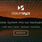 Strona wydarzenia Disrupt Space / Źródło: DisruptSpace