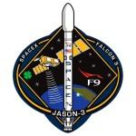 Logo misji Jason-3 / Credits - SpaceX