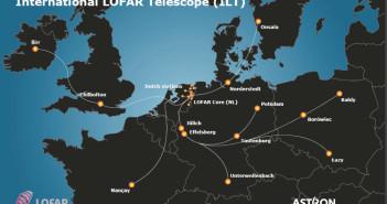 Sieć LOFAR powiększona o irlandzką stację Birr, styczeń 2016 / Credit: ASTRON, LOFAR