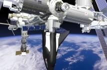 Dream Chaser przyłączony do ISS / Credits - Sierra Nevada