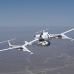 SpaceShipOne pod samolotem WhiteKnight / Credits - Scaled Composites
