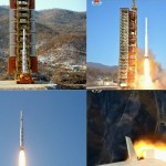 Ujęcia ze startu rakiety Unha-3 z 7 lutego 2016 / Credits - północnokoreańska TV