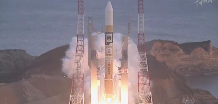 Start rakiety H-IIA z ASTRO-H / Credits - JAXA