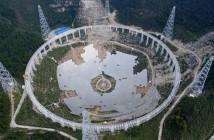 Radioteleskop FAST, o pojedynczej czaszy o średnicy 500 m