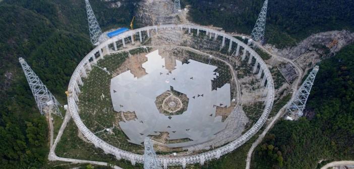 Największy radioteleskop powstaje w Chinach