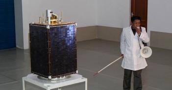 Zdjęcie drugiego egzemplarza Kwangmyongsong-3 z 2012 roku. Kwangmyongsong-4 może wyglądać podobnie / Credits - News.cn