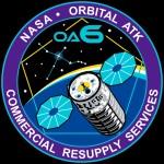 Logo nadchodzącej misji pojazdu Cygnus na ISS / Credits - Orbital ATK