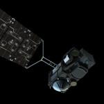 Sentinel-3 - wizualizacja / Credit: ESA, ATG Medialab