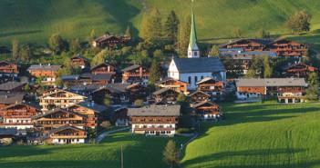 Alpejska wioska Alpbach, gdzie odbędzie się Summer School / Źródło: Barbara Gindl