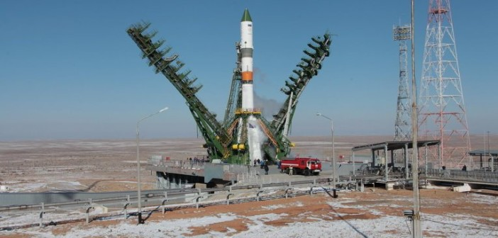 Sojuz-2.1a z Bars-M na stanowisku startowym / Credits - ria.ru