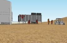 Projekt habitatu M.A.R.S. / Credits - Wojciech Pilacki