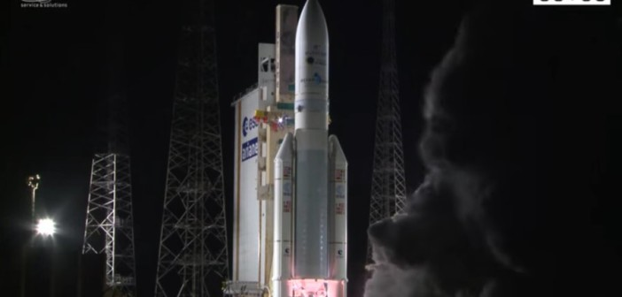 Start Ariane 5 z Eutelsat 65 West A / Credits - Arianespace