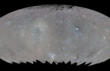 Ogólna mapa Ceres (zakres szerszy od wizualnego), ukazująca niejednorość w składzie powierzchniowym / Credits - NASA/JPL-Caltech/UCLA/MPS/DLR/IDA