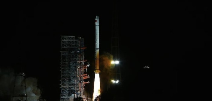 Start rakiety Długi Marsz 3A z satelitą nawigacyjnym / Źródło: Xinhua