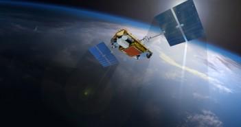 Artystyczna wizja satelity Iridium NEXT / Źródło: Iridium