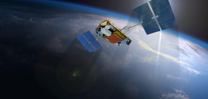 Artystyczna wizja satelity Iridium / Źródło: Iridium