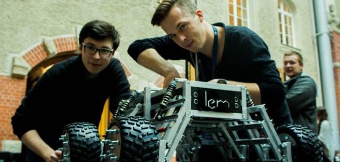 LEM Mars Rover / Źródło: NEX Robotics