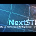 Logo programu NextSTEP / Credits- NASA