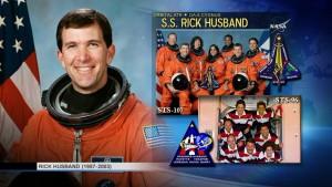 Rick Husband - patron statku Cygnus OA-6