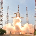 Start rakiety PSLV-XL C32 z satelitą IRNSS-1F / Credit: ISRO